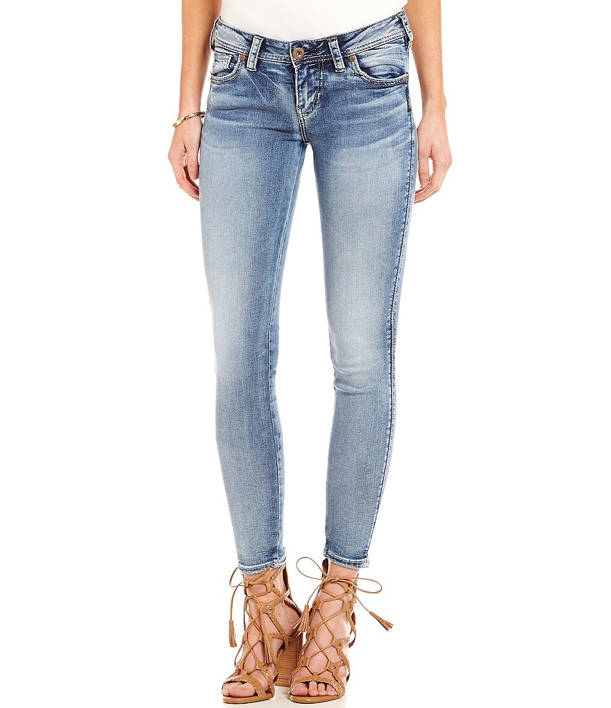 Silver Jeans Co Aiko Mid Super Skinny Jeans