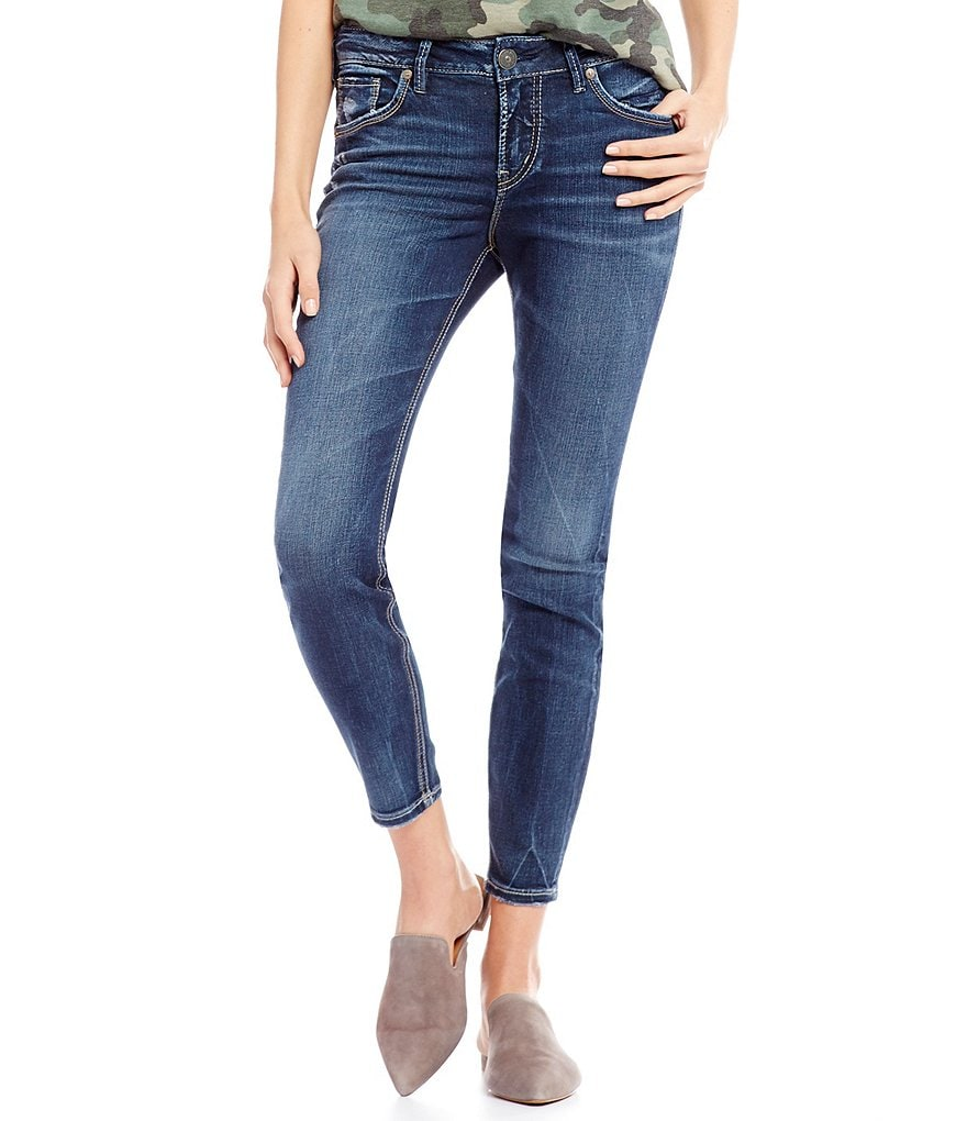 Silver Jeans Co. Avery High Rise Skinny Ankle Jeans
