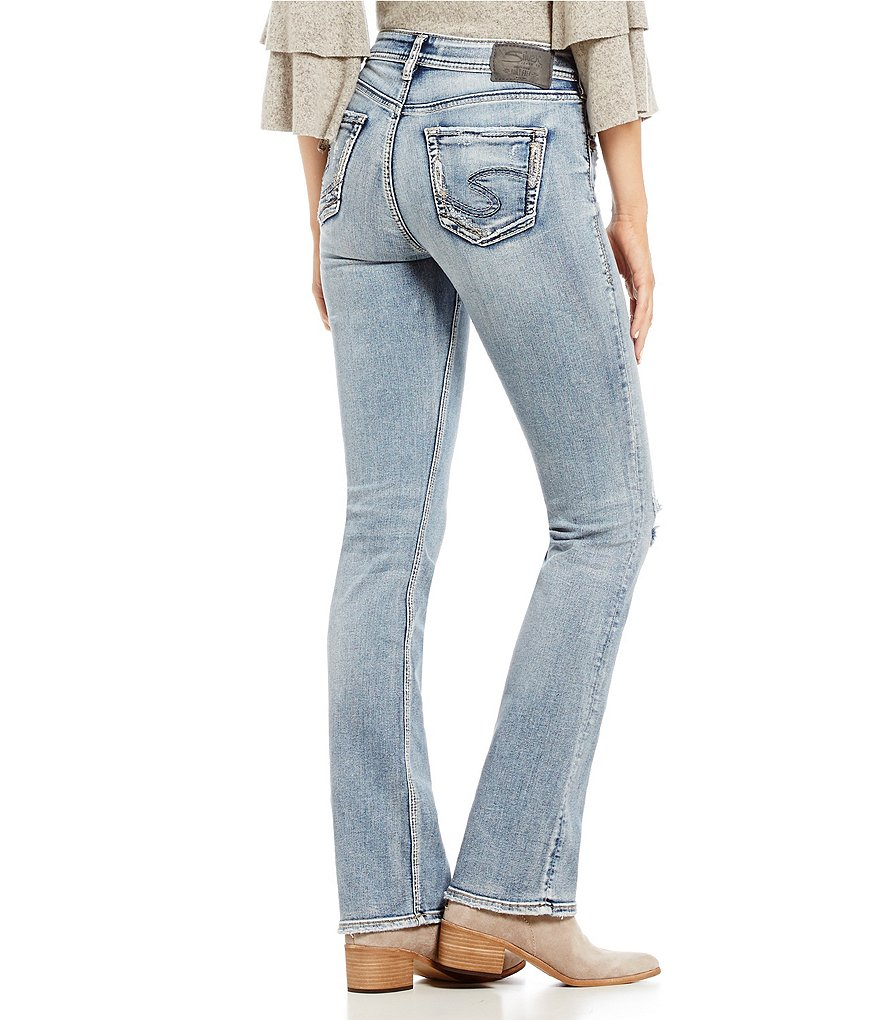 Silver Jeans Co. Avery Slim-Fitting Bootcut Jeans