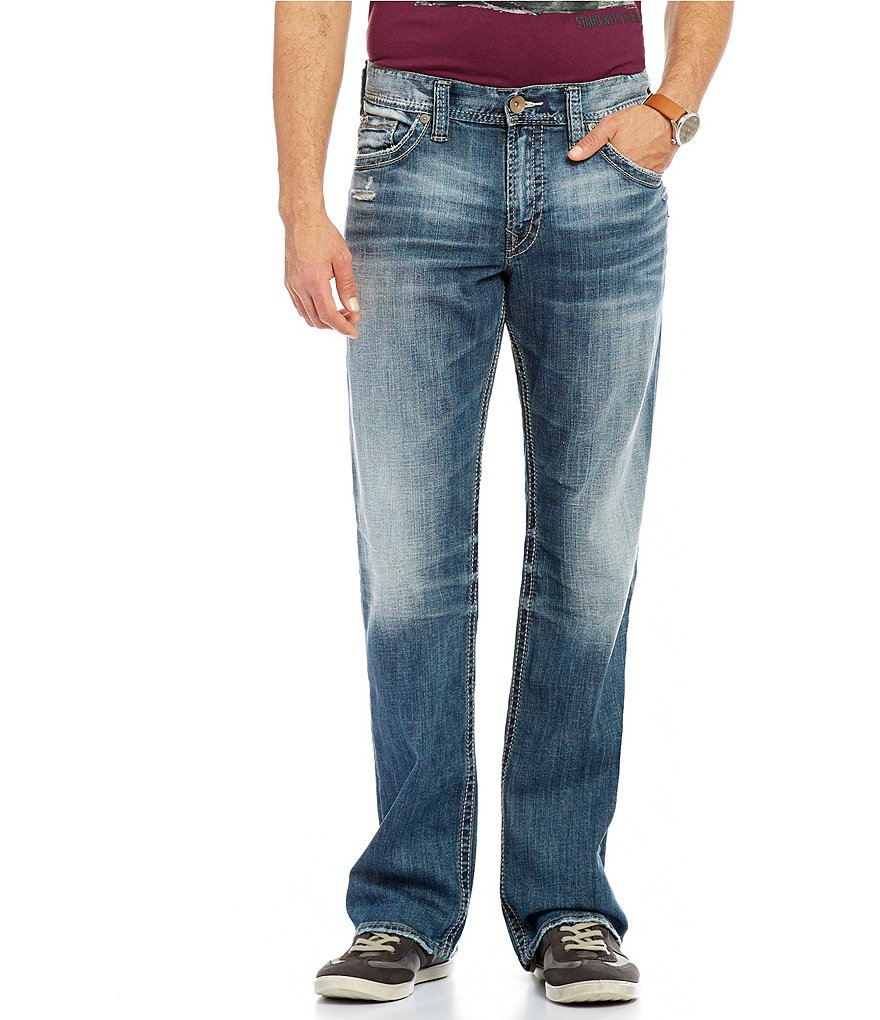 Silver Jeans Co. Big & Tall Grayson Relaxed Straight-Fit Jeans