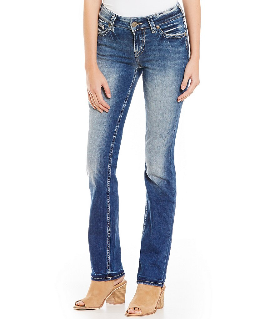 Silver Jeans Co. Suki Straight Super Stretch Jeans