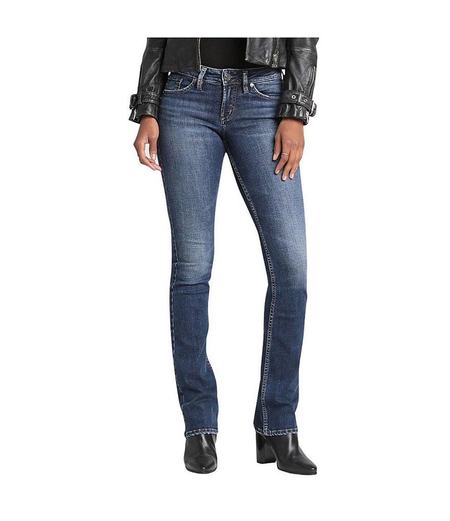 Silver Jeans Co Suki Slim Medium Wash Bootcut Jeans