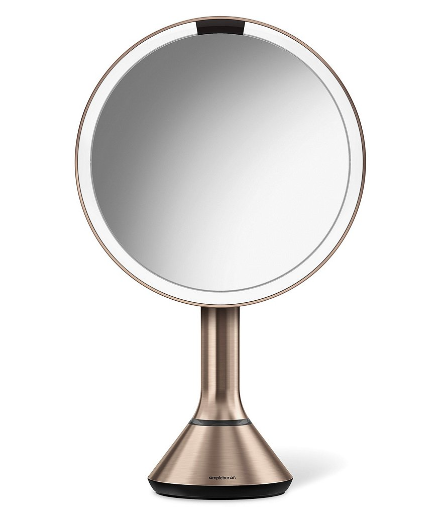 simplehuman Rose Gold 8#double; Sensor Mirror with Brightness Control