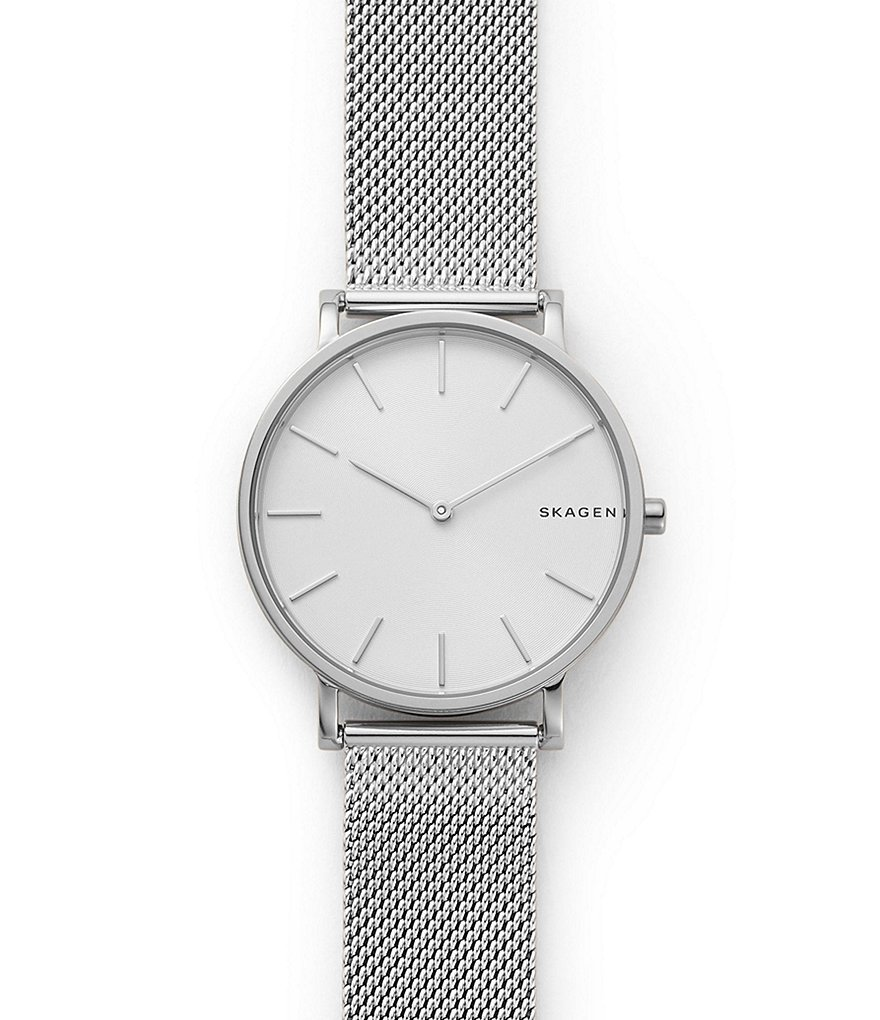 Skagen Hagen Slim Steel-Mesh Watch