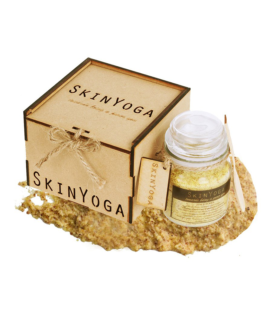 Skin Yoga Almond Orange Face Scrub