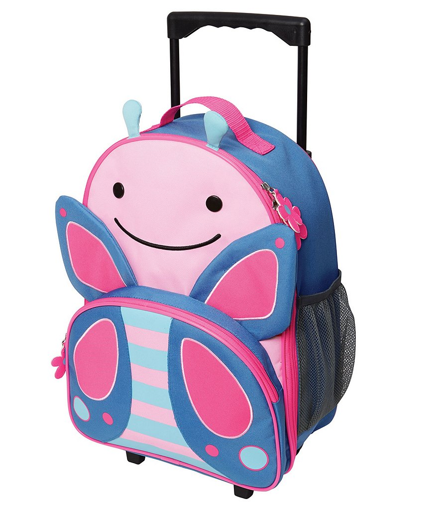 Skip Hop Zoo Butterfly Rolling Luggage