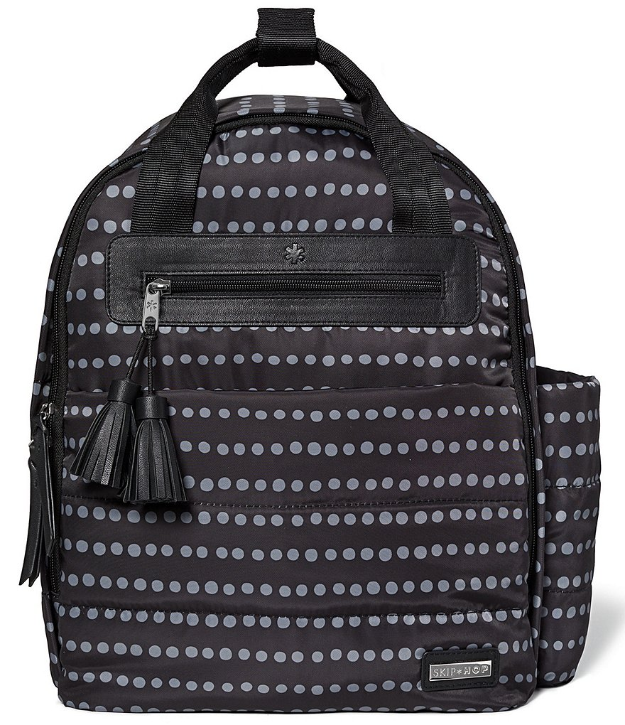 Skip Hop Riverside Dotted Backpack Diaper Bag