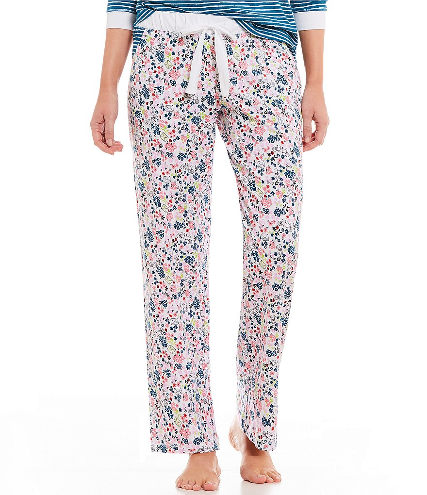 Sleep Sense Floral & Striped Sleep Pants