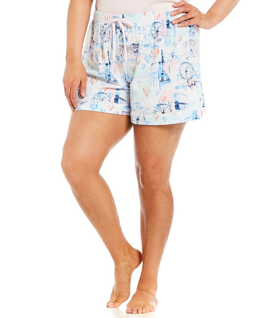 Sleep Sense Plus Paris-Printed Sleep Shorts