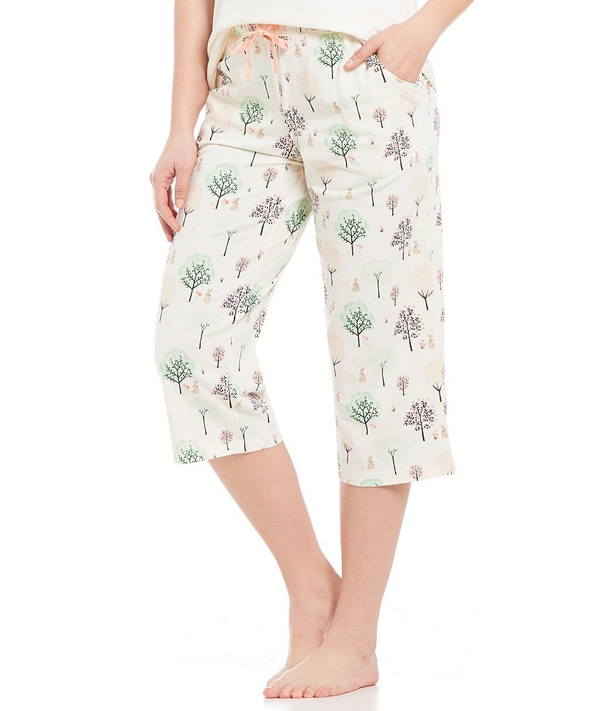 Sleep Sense Spring Park Capri Sleep Pants