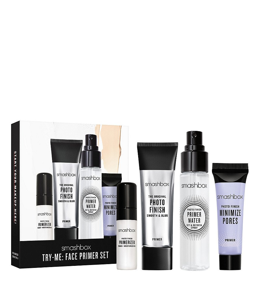 Smashbox Try Me: Face Primer Travel-Size Set