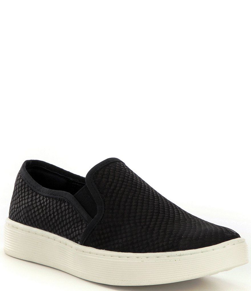 Sofft Somers Snake Print Slip-On Sneakers