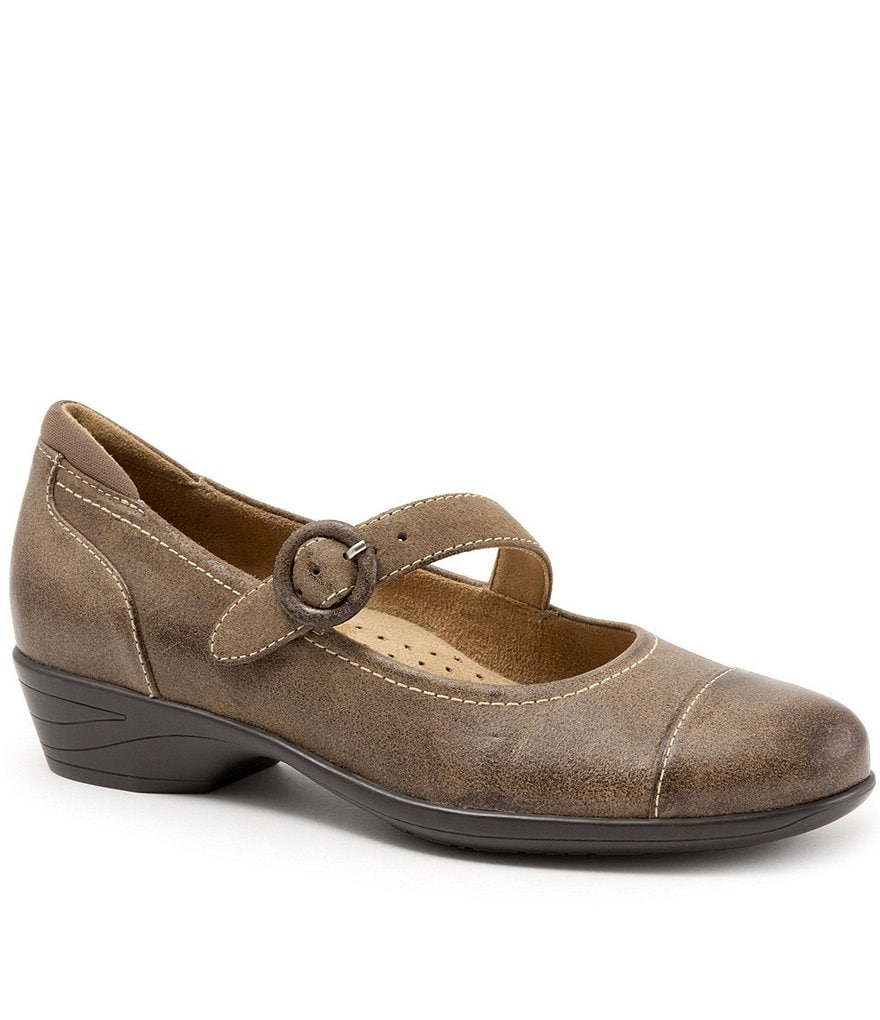 SoftWalk Chatsworth Block Heel Mary Janes