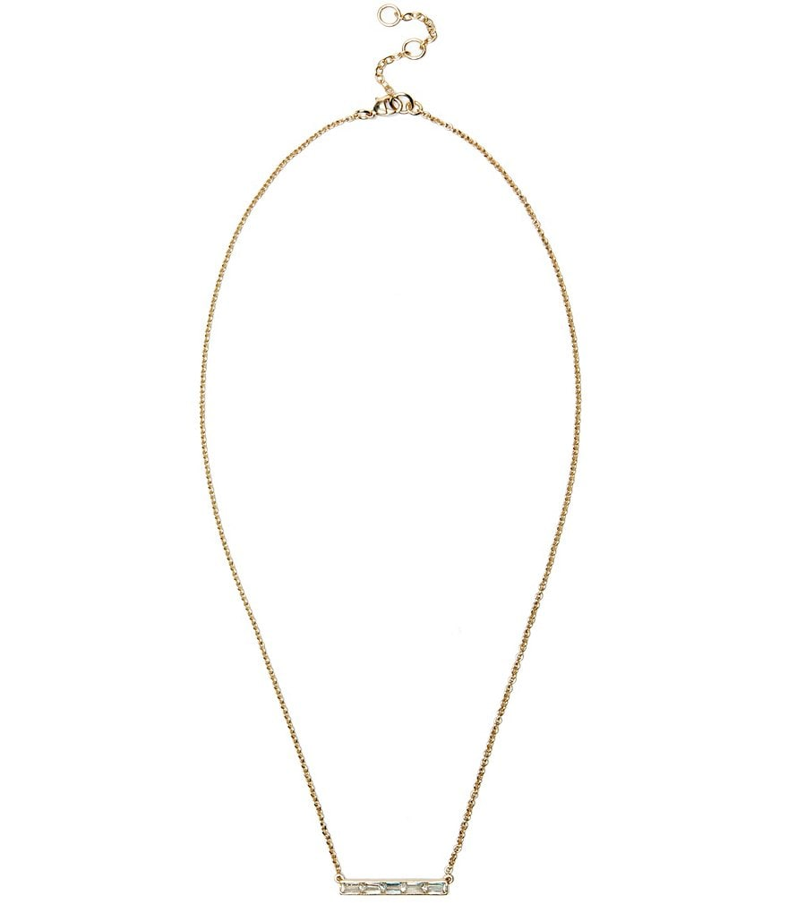 Sole Society Bar Necklace