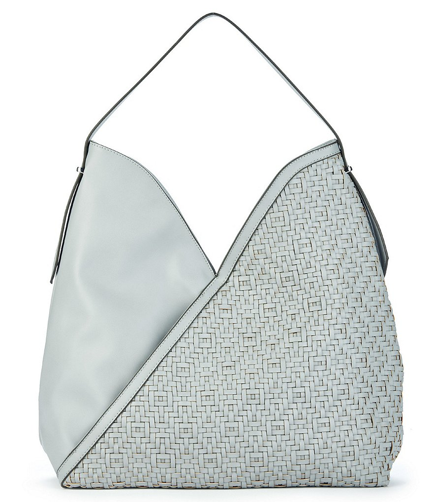 Sole Society Clarice Woven Hobo Bag