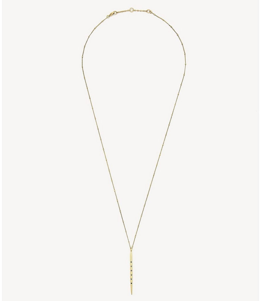 Sole Society Single Stick Necklace