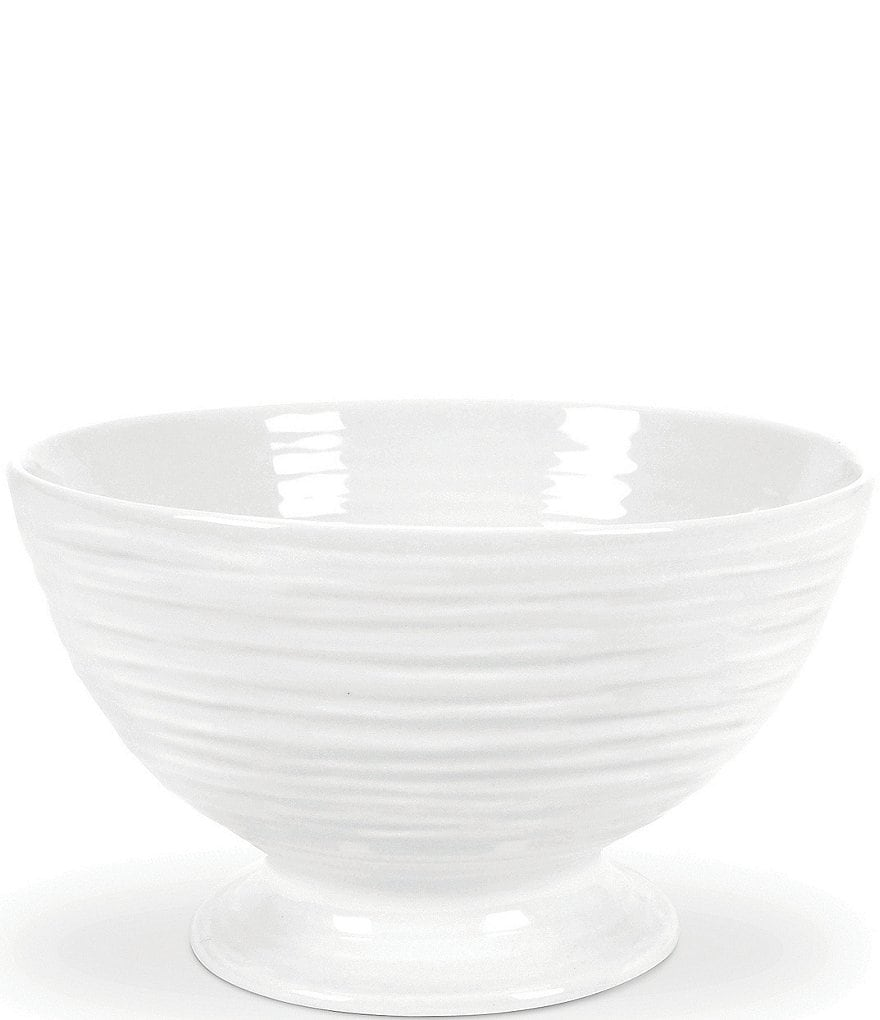 Sophie Conran for Portmeirion White Porcelain Footed Bowl