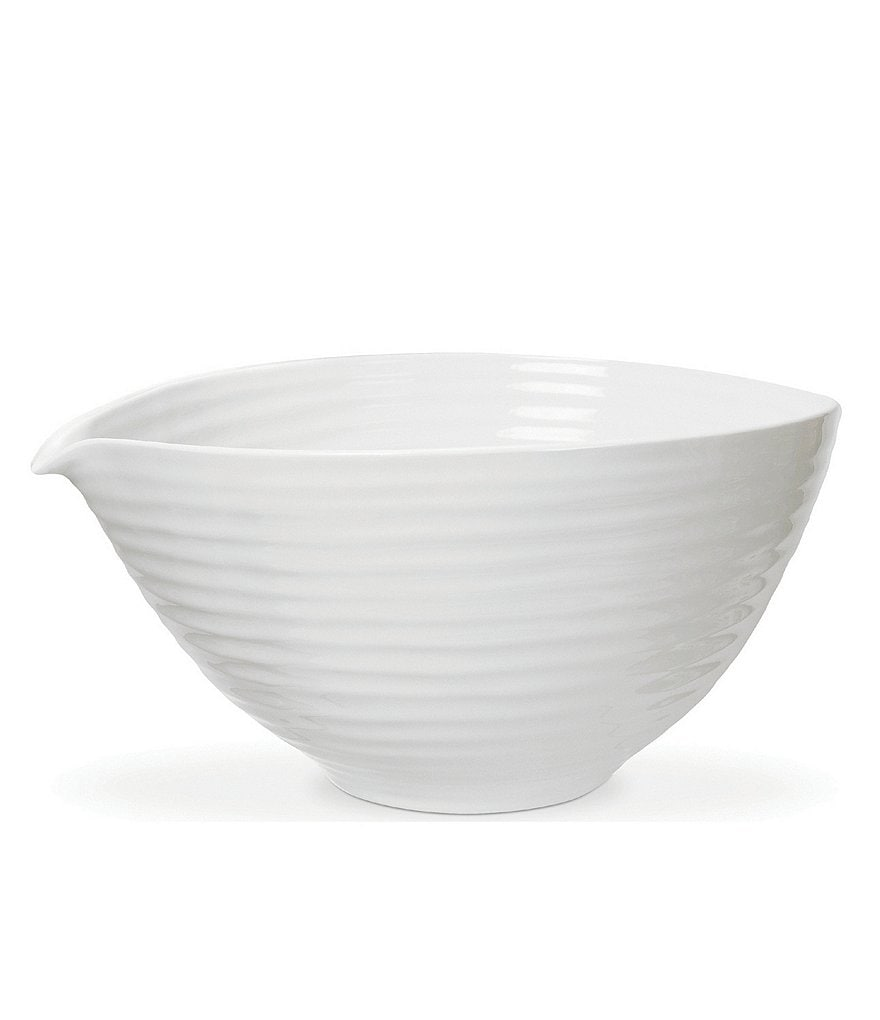 Sophie Conran for Portmeirion White Porcelain Pouring Bowl