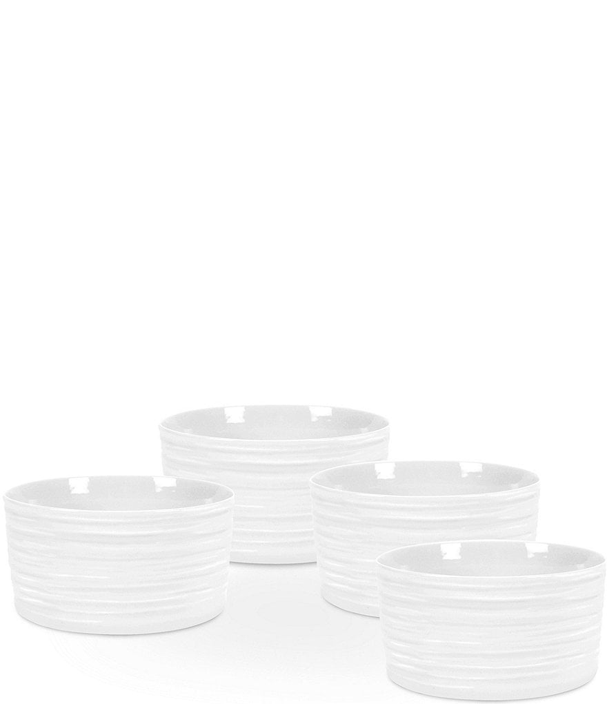 Sophie Conran for Portmeirion White Ramekins, Set of 4