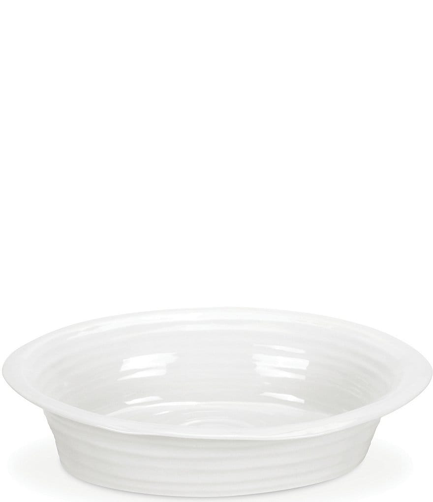 Sophie Conran for Portmeirion White Round Pie Dish