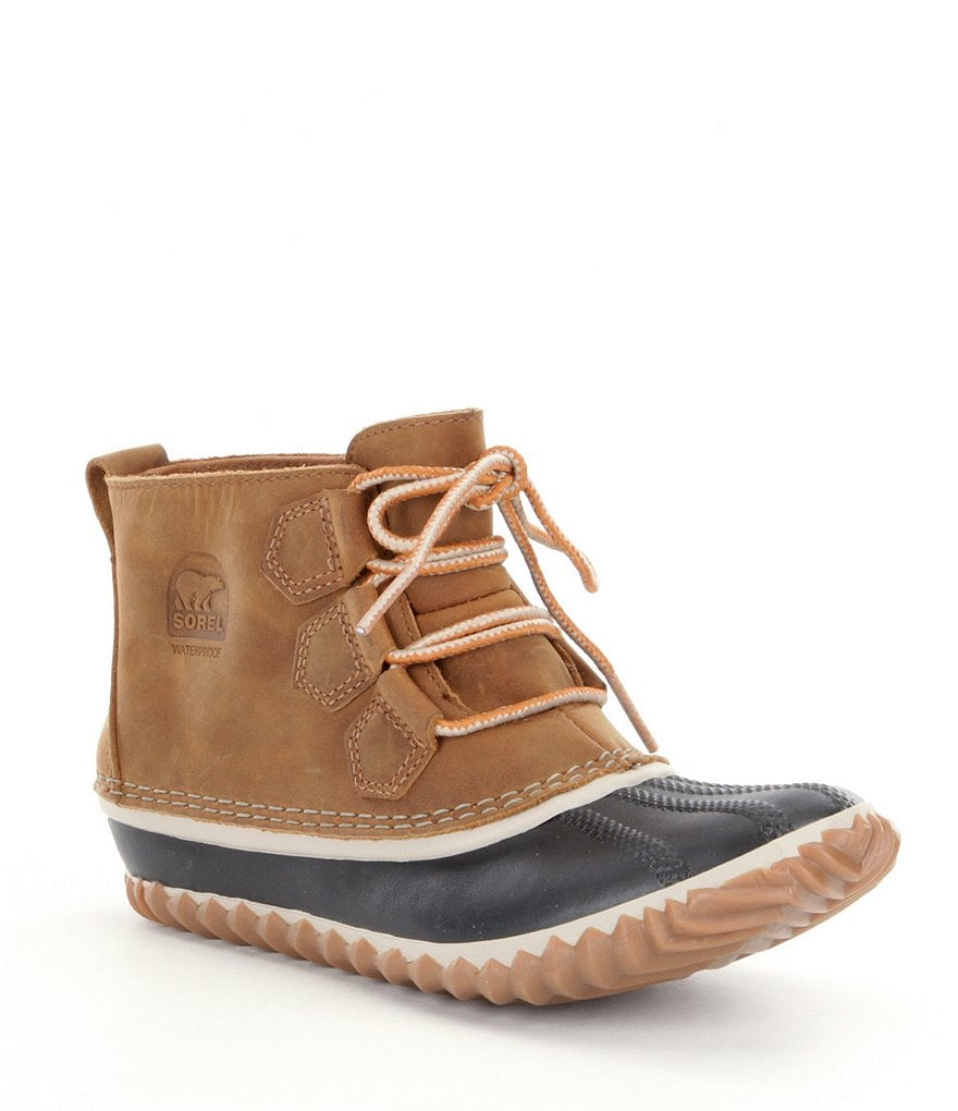 SOREL Women's Out N About Waterproof Booties