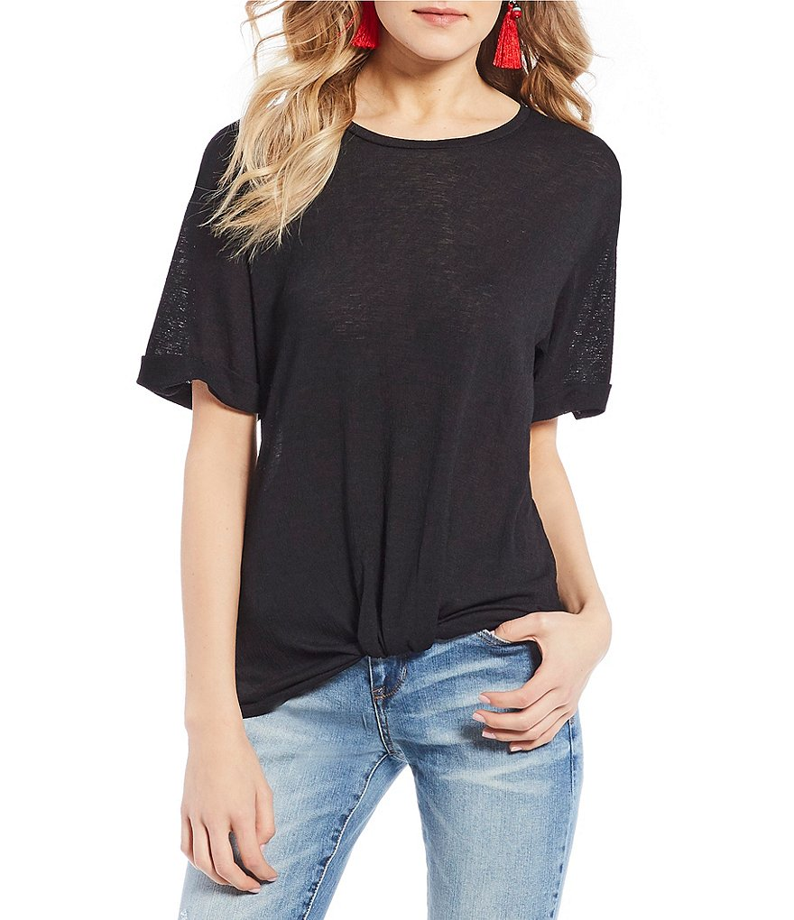 Soulmates Knot Front Tee
