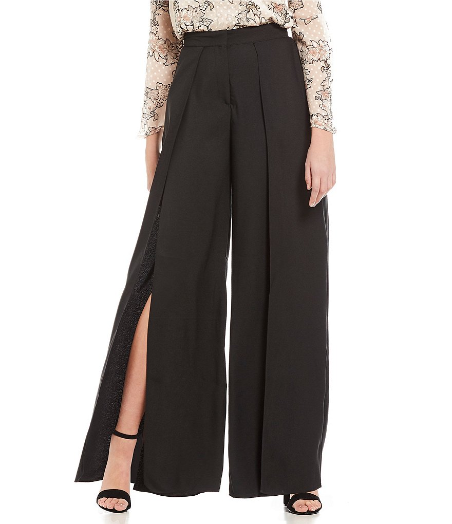 Soulmates Split Wide-Leg Pants