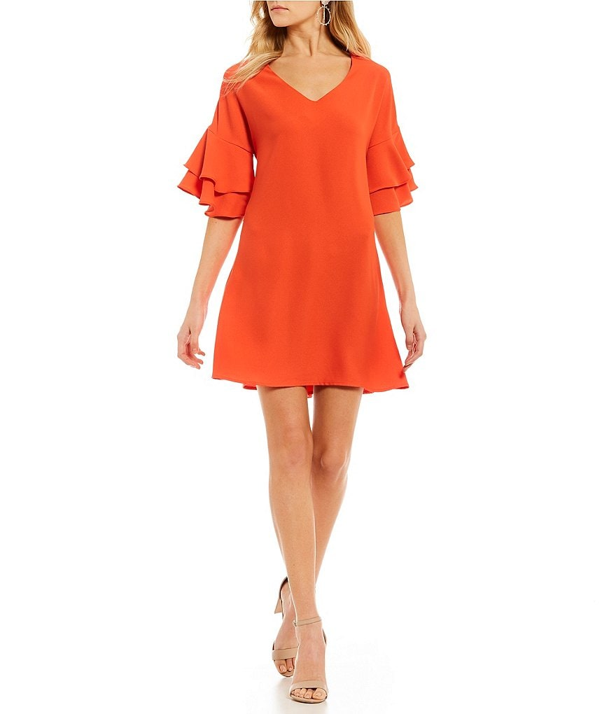 Soulmates Tiered-Sleeve Shift Dress