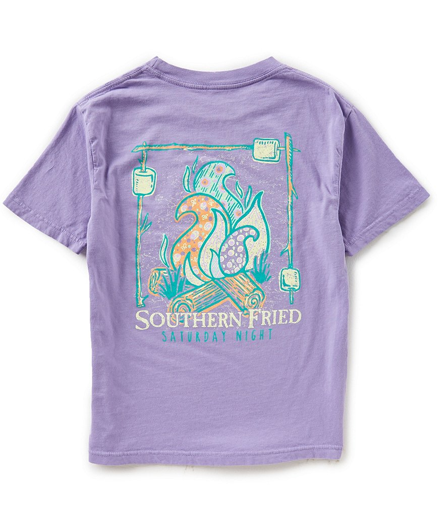 Southern Fried Cotton Big Girls 7-16 Gimme S'more Short-Sleeve Tee