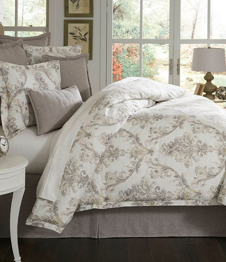 Southern Living Raleigh Floral Egyptian Cotton Comforter Mini Set