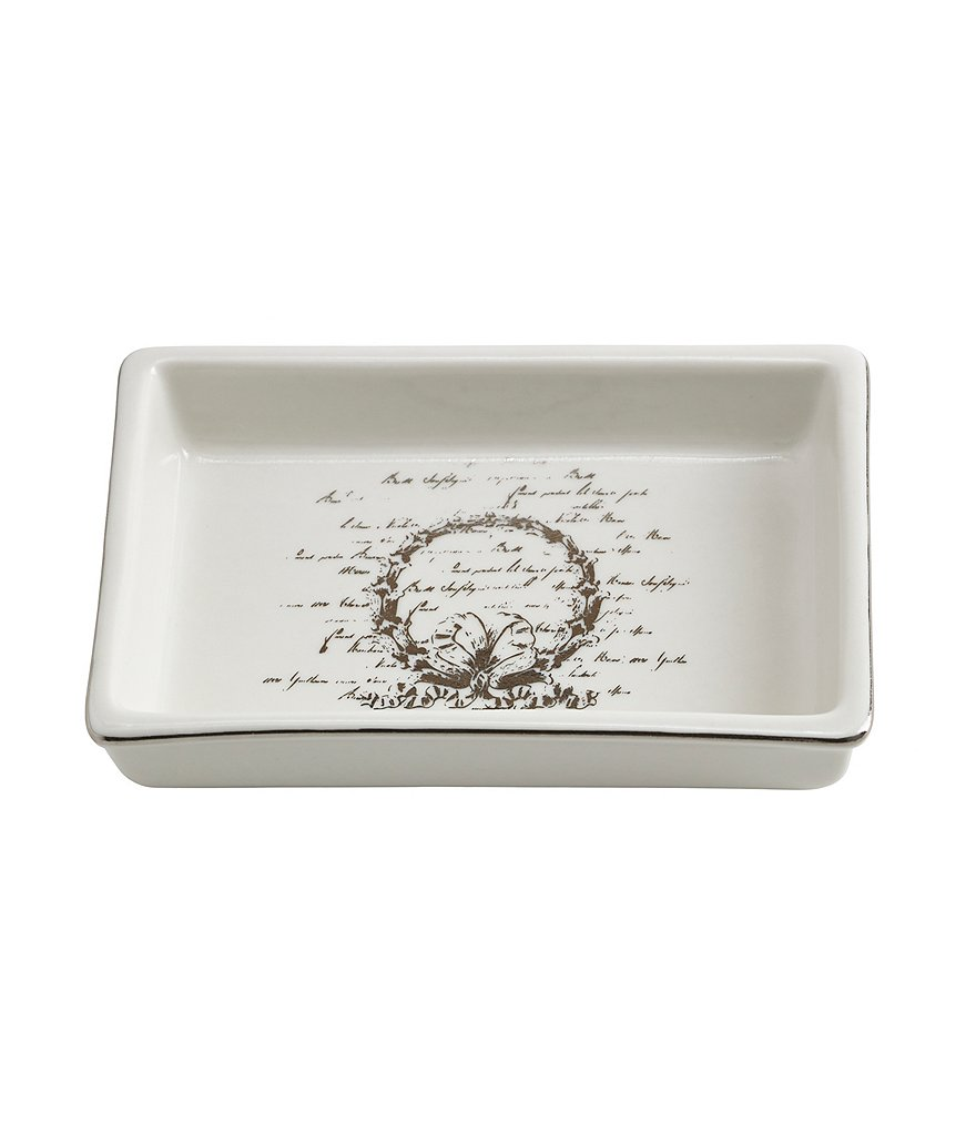 Southern Living Scroll Soap Dish