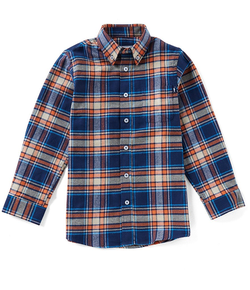 Southern Lure Big Boys 8-20 Plaid Flannel Button-Down Shirt