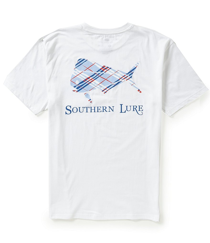 Southern Lure Logo Chest-Pocket Graphic Tee