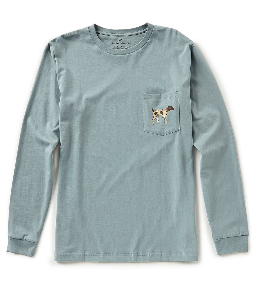 Southern Point Stamp Logo Long-Sleeve T-Shirt