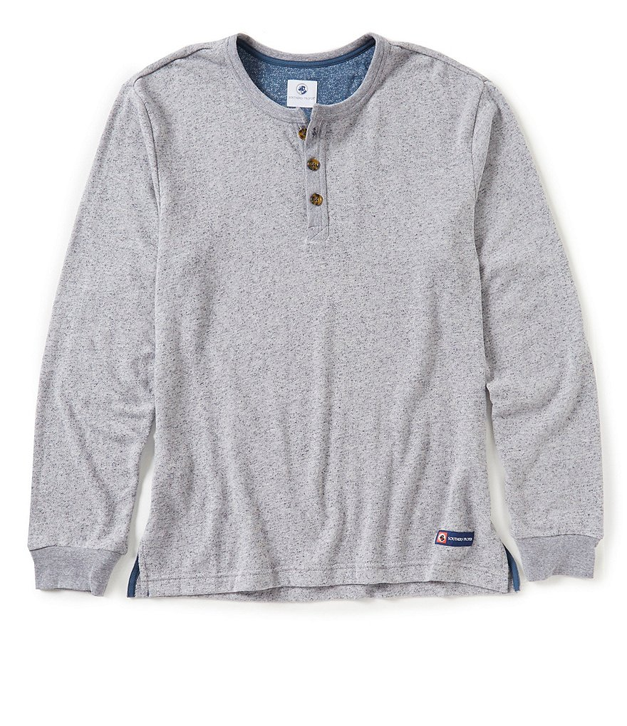 Southern Proper Long-Sleeve Hunter Henley