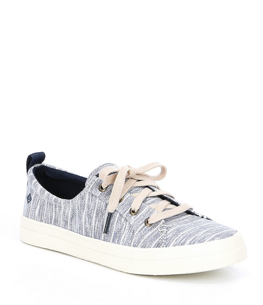Sperry Crest Vibe Paintery Stripe Sneakers
