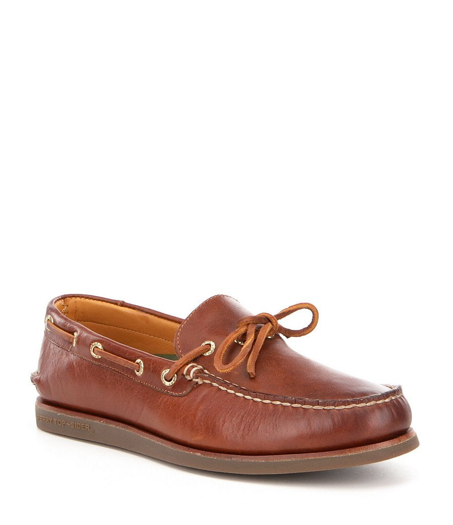 Sperry Men's Gold Authentic Original 1-Eye Wedge Boat Shoes