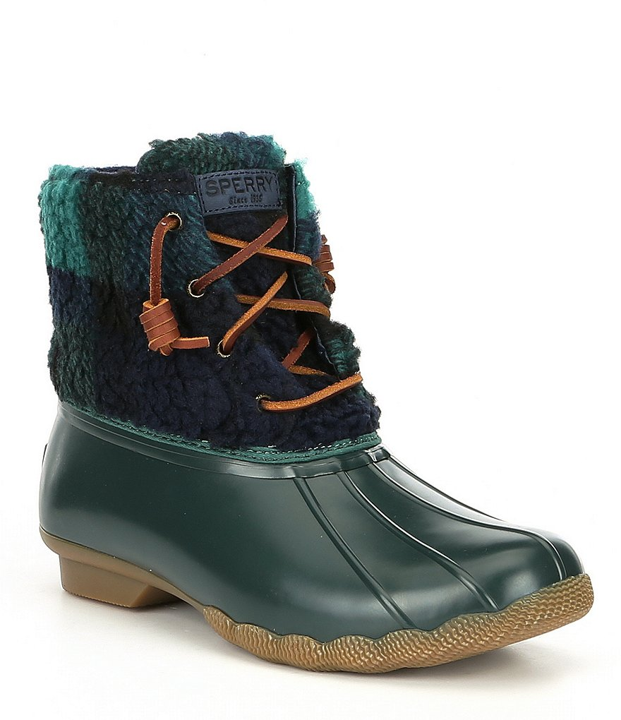 Sperry Saltwater Cozy Cold Weather Duck Boots