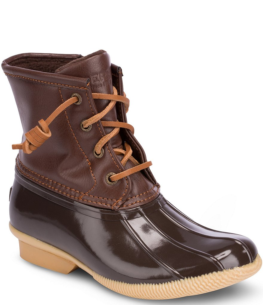Sperry Saltwater Kid's Cold Weather Duck Boots