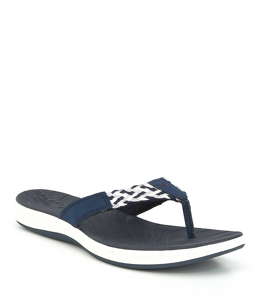 Sperry Seabrook Swell Braided Fit Flops