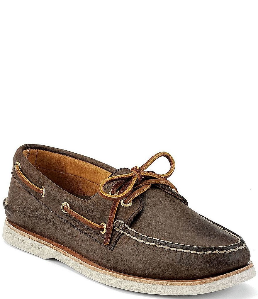 Sperry Men's Top-Sider Gold A/O 2-Eye Boat Shoes