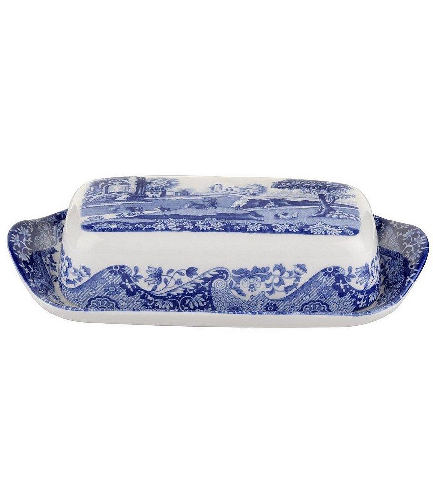 Spode Blue Italian Covered Butter Dish  sc 1 st  Dillard\u0027s & Spode Blue Italian China | Dillards