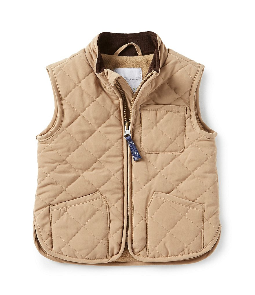 Starting Out Baby Boys 12-24 Months Peached Quilted Vest