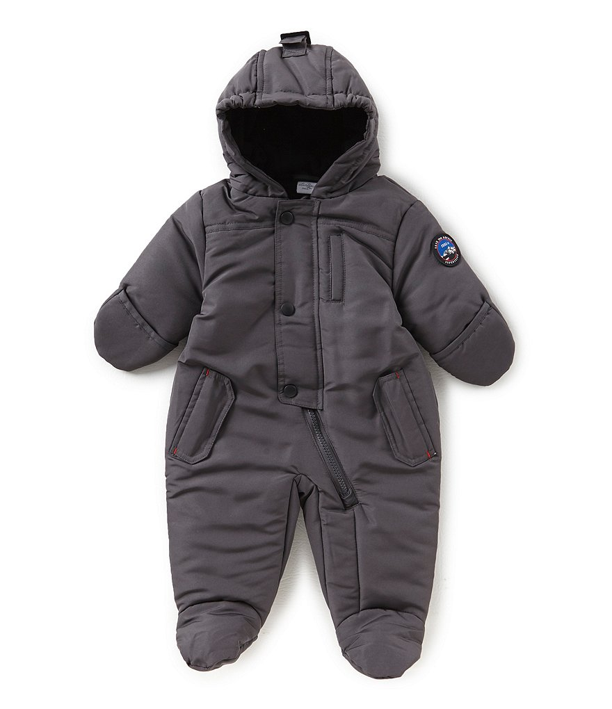 Starting Out Baby Boys 3-9 Months Footed Puffer Jacket
