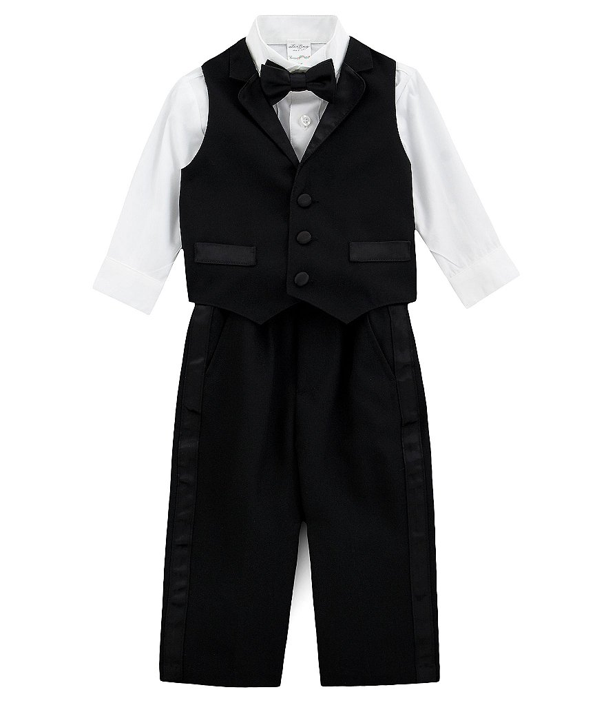 Starting Out Baby Boys 6-24 Months 4-Piece Tux-Vest Set