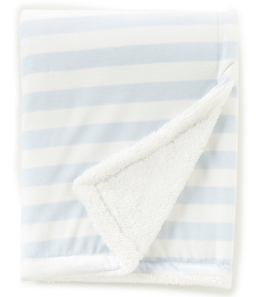 Starting Out Baby Boys Stripe Blanket