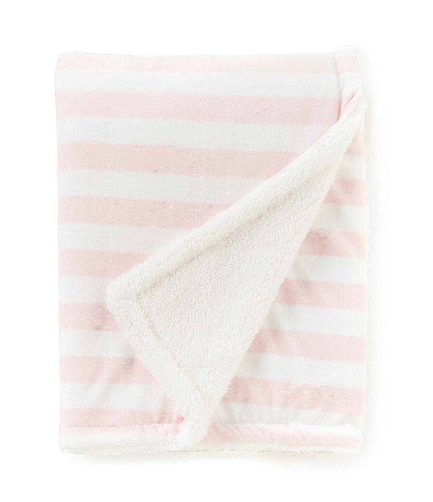 Starting Out Baby Girls Stripe Blanket