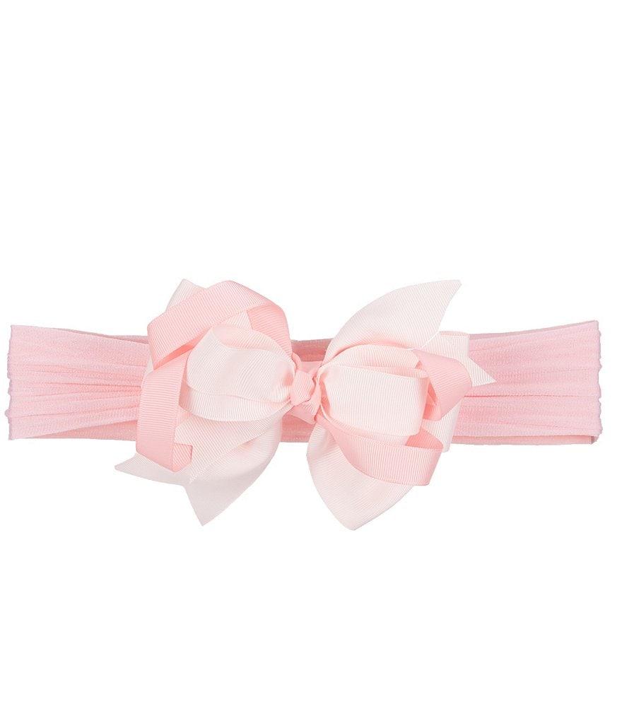 Starting Out Baby Girls Two-Tone Bow Headband