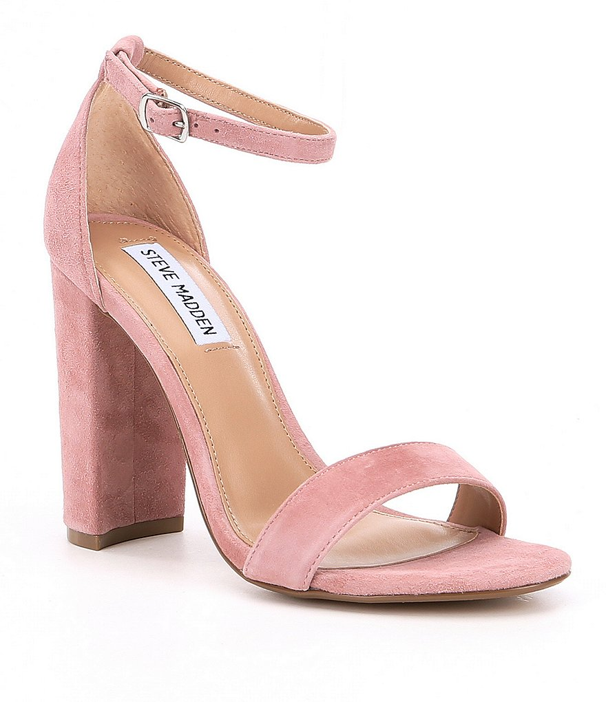 Steve Madden Carrson Suede Dress Sandals