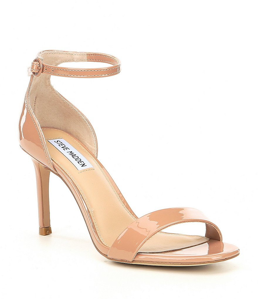 Steve Madden Fame Patent Ankle Strap Dress Pumps